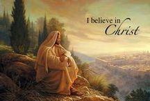 JESUS / JESUCRISTO. ANGELES.       / by Mary Mendoza
