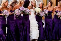 Wedding ideas / Ideas for my BFF/Bride-to-be's wedding! Also included are helpful articles! In case you didn't guess already, purple is her favorite color and way of life, ergo that's our wedding color! / by Kris DramaQueen