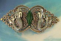 Mermaids / Mermaid nautical art. Mermaids: life of freedom / by Ilana Cozy Traditions on Etsy