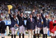 WEG History 1990 - 2002 / Best photos of the 4 first World Equestrian Games : 1990 in Stockholm (Sweden), 1994 in La Haye (Netherlands), 1998 in Rome (Italy), 2002 in Jerez (Spain). / by Alltech FEI World Equestrian Games™ 2014 in Normandy.