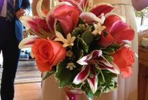 Wedding Flowers / Flower Bouquet and arrangements for wedding / by Whispering Pines Bed & Breakfast