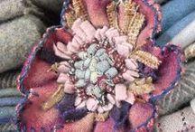 Textile Art Jewelry  / by Martha Foss