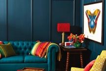 Basement / TV room / by Brandy Crist-Travers