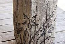 Wood working ideas / Scroll sawing, wood burning etc / by Michelle Logan