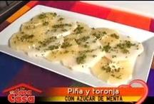 #cocinacomoencasa / Prepara las recetas de María Ruth en @decasaencasa / by Tc Mi Canal