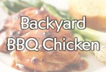 Backyard BBQ Chicken / Planning a summer BBQ? Put the beef burgers away and get inspired by these great summer chicken grilling recipes. / by Gold'n Plump