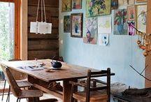 a cabin in the woods / by Katarzyna Mojkowska