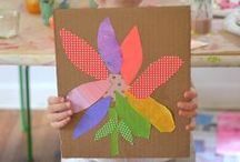 Preschool Arts and Crafts / Developing creativity and imagination with Preschool arts and crafts!  Crafty fun with an educational twist! / by How Wee Learn