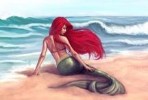 The Little Mermaid  / Flippin your fins, you dont get too far..  For all The Little Mermaid fans :)  / by shyanne kelly