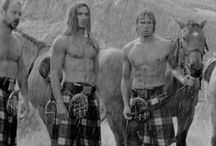 Men in kilts for Christine / by Pernille Rømer