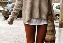 How to wear brown color / by Match Clothes Colors