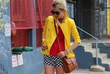 Outfits with YELLOW / by Match Clothes Colors