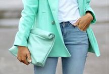 Mint Green Coordinates  / by Match Clothes Colors