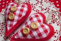 HEARTS & VALENTINE'S DAY / by Gypsy Stitches