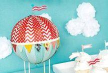 PARTY Hot Air Balloon / by Digital Printables ◆ WhilstDigitalStash   Whilst