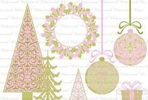 HOLIDAY Pink / by Digital Printables ◆ WhilstDigitalStash   Whilst