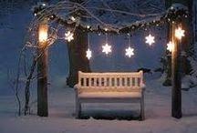 HOLIDAY White Christmas / by Digital Printables ◆ WhilstDigitalStash   Whilst