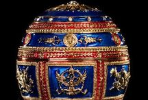 Faberge' Eggstra  Ordinary / Faberge Jeweler to the Russian Crown / by Monika Weiler