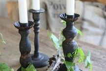 CANDLE AND LANTERN / by Grazia Merlo
