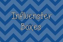 My Influenster Boxes / by Heather P.