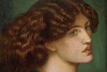 Pre-Raphaelite Beauty / by Laura Malavolti
