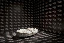 art / enveloppe >< proliferation / Enveloppe extérieure, recouvrement d'une surface crée par répétition d'un même motif, matériau, texture........ / by Carole Brandon