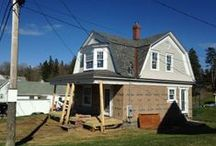 Sea Cove Cottage Renovation / Here's where I post photos and videos from the construction site! / by Steve Thomas