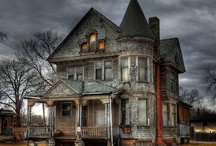 Real Haunted Houses,The Unexplained & Spooky Things / by Carol Kyle