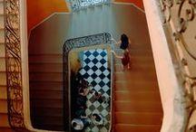 Quelques escaliers... / Escaliers en marbre, en pierre, en travaux, dans un jardin, en intérieur, antique ou plus moderne, découvrez-en une variété multiples dans les sites Culturespaces !  / by Culturespaces