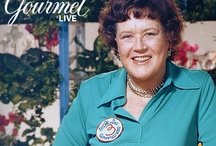 "Julia Child / I have always liked Julia since I watched her cooking on PBS. After seeing the movie ""Julie and Julia"", I absolutely fell in love with everything Julia! So you will find all kinds of things associated with Julia here. / by Willow"