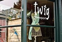Booths, Displays, Shops & Storefronts / by Willow
