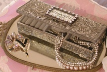 Chanel in the Jewelry Box / Wonderful pieces of Chanel jewelry  / by Willow