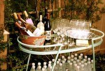 Bars, Bar Carts & Barware / Cute bar set-ups and barware for serving cocktails at home. / by Willow