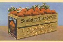 California Grown ~ Crate Labels * Brochures * Packaging / California Crate labels and other produce brochures, packaging and more. / by Willow