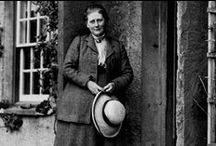 Beatrix Potter / Beloved author and Illustrator ~ born Helen Beatrix Potter; 1866 – 1943 ~  / by Willow
