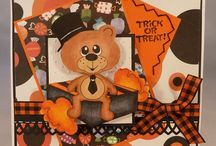 2 Halloween cards / by Alison Haan