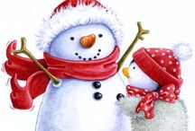 3 Christmas clipart / by Alison Haan