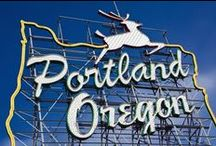 Portland ☂ / My favorite city in the Pacific Northwest.. / by Diana Banana