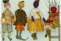 Cloth Dolls/Soft Sculpture / by Susan Torrington