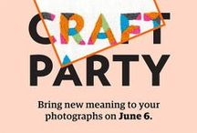 Craft party / Bringing new life to your old photos. / by Brighton Etsy Team