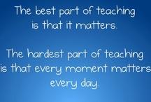 Teacher Talk! / Funny teacher themed memes and quotes! / by Blog Hoppin'