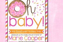 Party Inspiration: Doughnut Baby Shower / by One Swell Studio - Cara McGrady