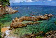 Catalonia's beaches and villages / Costa Brava &  Costa Dorada. You will dream about Catalonia. / by Hotel Murmuri Barcelona
