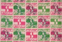 printed textiles / by lizzie h