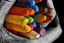All about colors / by Anna Maria Ligia Desloovere