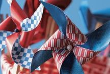 Patriotic Holiday Ideas / Crafts, decorations, and celebration ideas for any of our Patriotic Holidays - Memorial Day, Fourth of July, and Veteran's Day. / by Craft As Desired