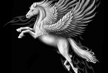 Horse,Unicorn,pegasus / by Thanyaphat Sonkanok