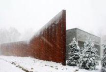 Architecture in the Snow / by ArchDaily