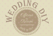 ❁❀✿  Wedding DIY  ✿❀❁ / <EN>Many crafty brides and grooms enjoy making some of their #wedding items themselves. If you want to participate just send me invitation by Pinterest comment or by email officinadeiricami@gmail.com. Invite friends through edit board menu ♥  NO SPAM<IT>Piccole e grandi cose realizzate per il giorno più bello dagli #sposi . Se volete partecipare anche voi :-) scrivete un commento o inviate una email ad officinadeiricami@gmail.com grazie...Vi aspettiamo! Invita gli amici cliccando su edit board ♥ / by Officina dei Ricami Sacchetti porta Confetti