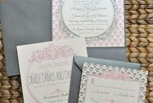 Pink Pattie Paperie / Looks I love!! Wedding invitation suites & party paperie / by Pink Pattie Paperie